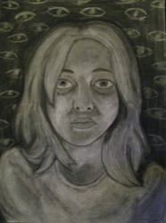 Dramatic Self-Portrait by Stellarness