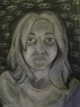 Dramatic Self-Portrait