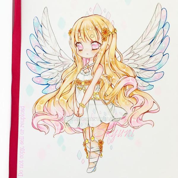 Sparkling Angel by Skyuni