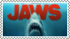 Jaws Fan Stamp by MyMyDraws3