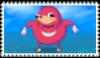 Ugandan Knuckles Stamp by MyMyDraws3