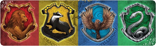 Hogwarts Houses Dividers 2 by MyMyDraws3