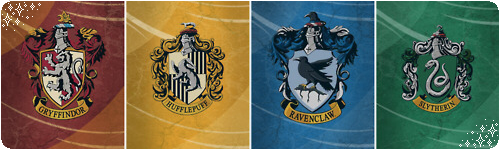 Hogwarts House Dividers by MyMyDraws3