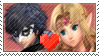 Joker x Zelda stamp by MyMyDraws3