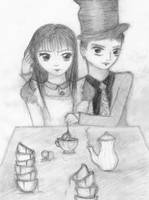 Tea-time by MissDarling23
