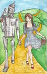 Dorothy and the Tin Woodman