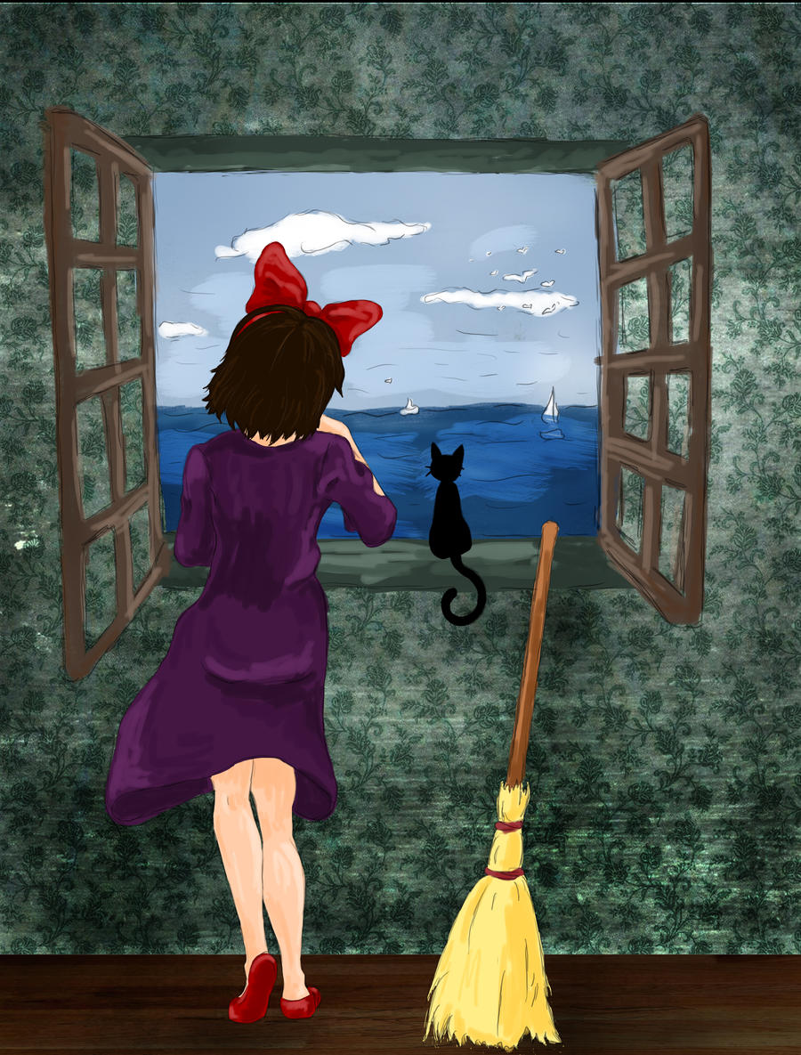 A Witch by the Sea by MissDarling23
