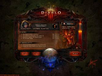 Diablo 3 Launcher by Panperkin