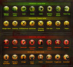 Dungeon Hunter 3 Skills Icons