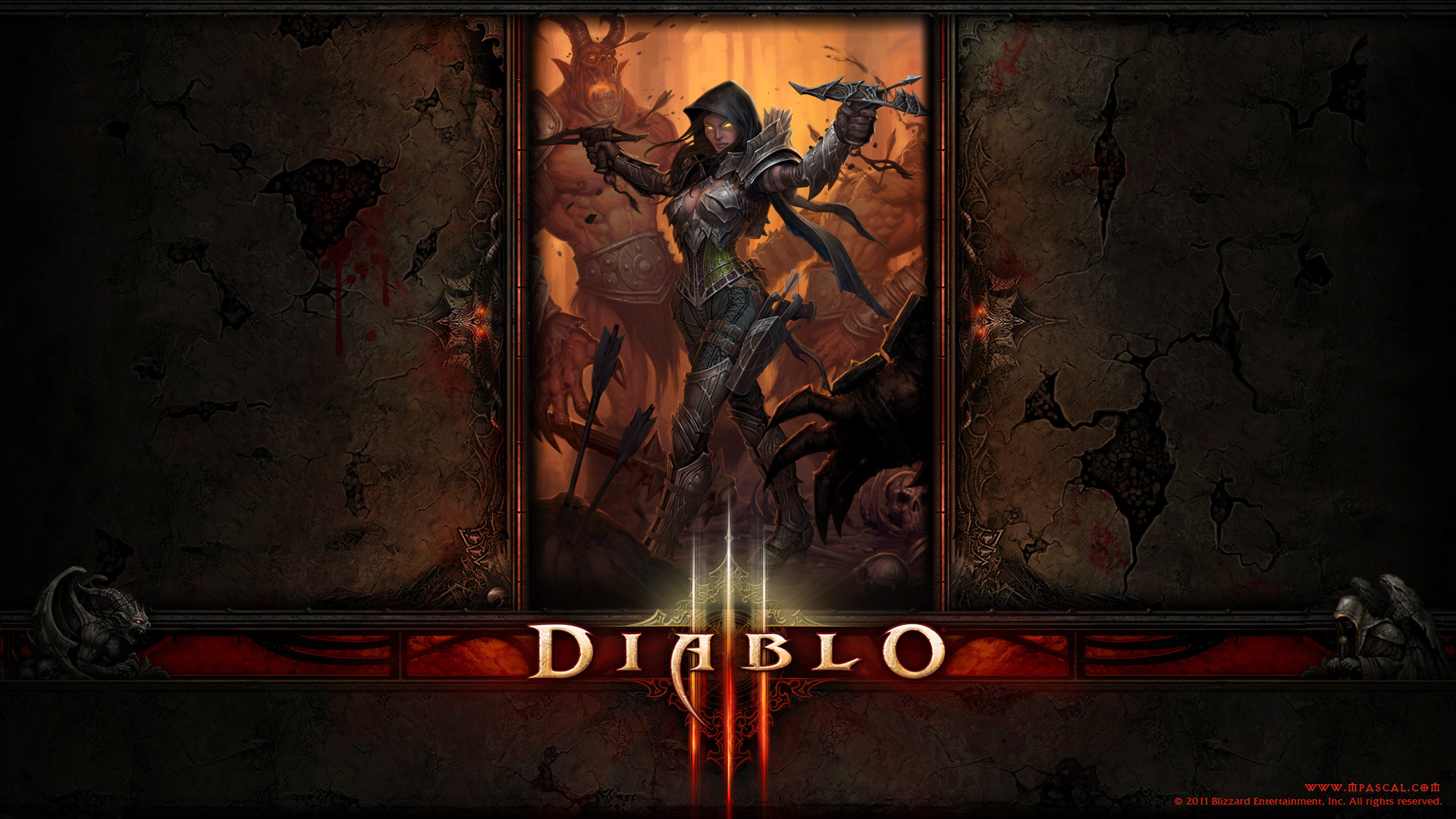 Diablo 3 demon Hunter wallpaper by Panperkin on DeviantArt