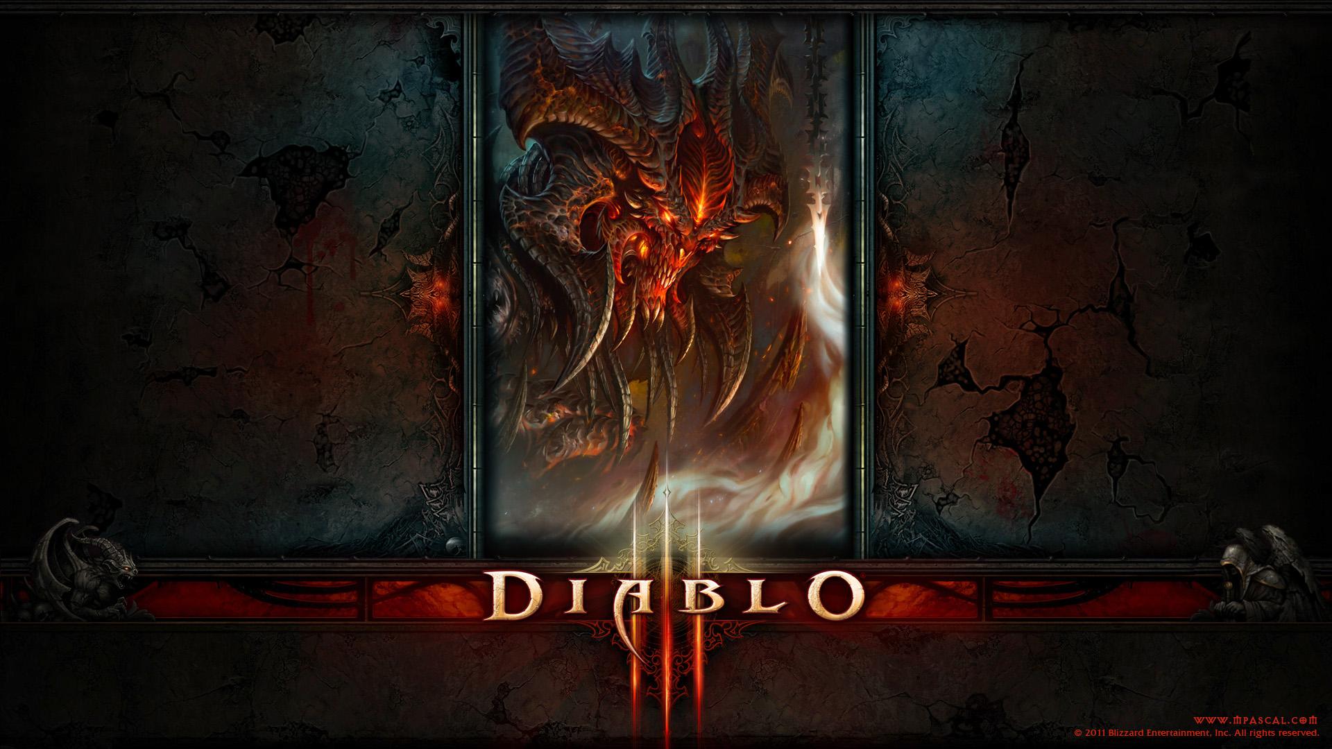 diablo 3 diablo wallpaper by panperkin on deviantart