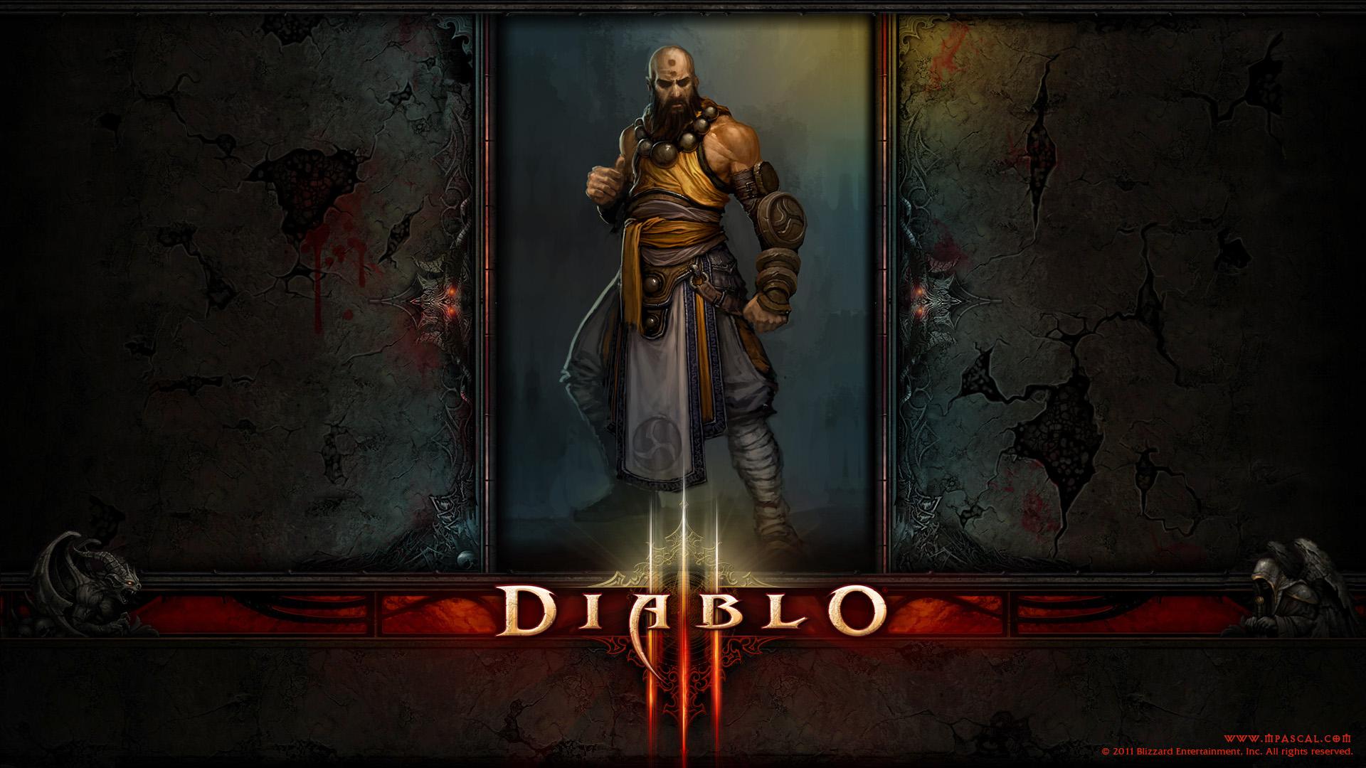 Diablo 3 Monk wallpape...