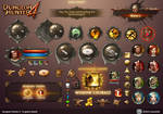Dungeon Hunter 4 in-game Assets