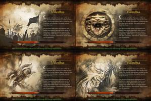 Dungeon Hunter Loading Screens by Panperkin