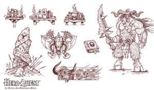 Heroquest illustrations