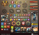 Dungeon Hunter 5 in-game Assets