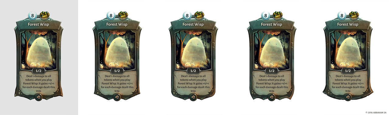 Faeria card studies by Panperkin