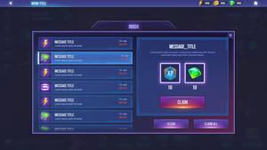 Dungeon Hunter Champions Inbox menu