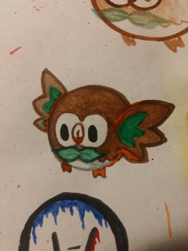 Painted a little Rowlett  by shorty4815
