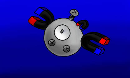 How I imagine Magnemites hold magnets.