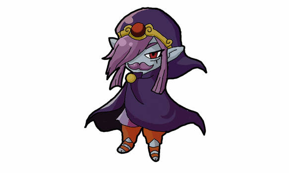 Vaati with a Mustache