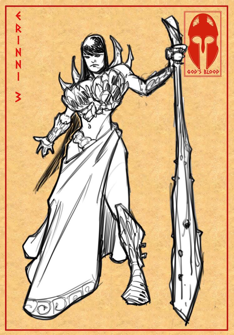 Character Design Study : Defender diego bonesso deviantart