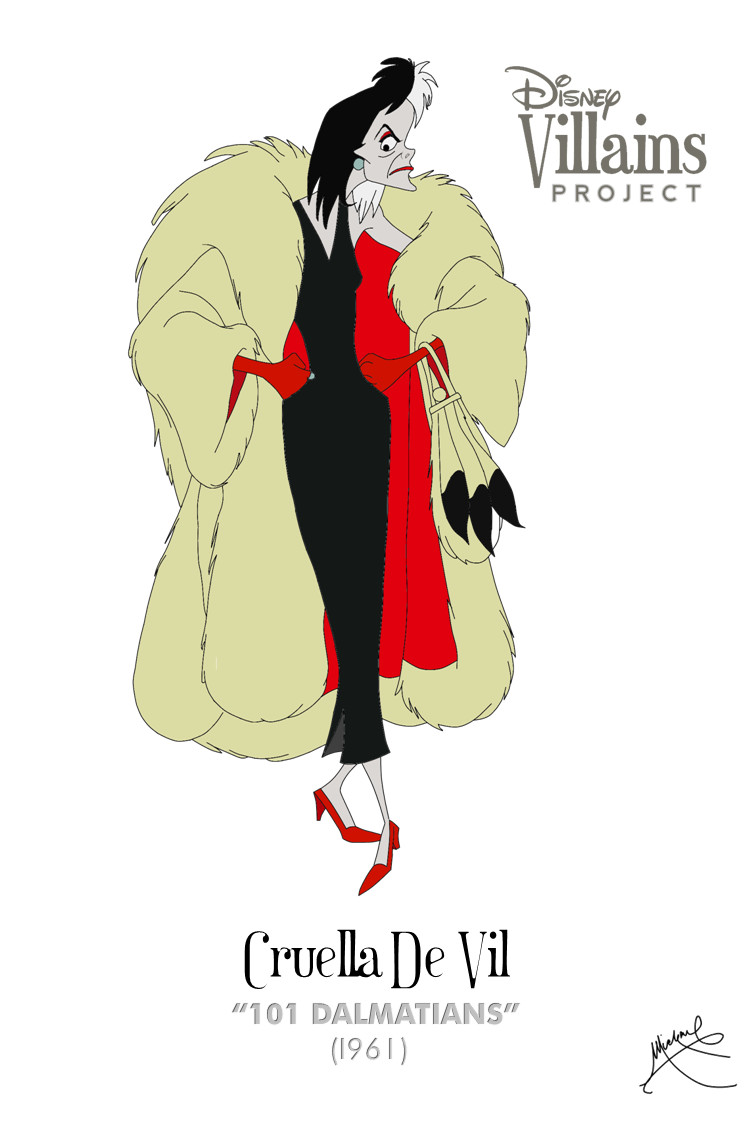 Cruella De Vil by michaeljdapos on DeviantArt