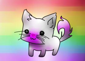 Cat Violet by gajka2004