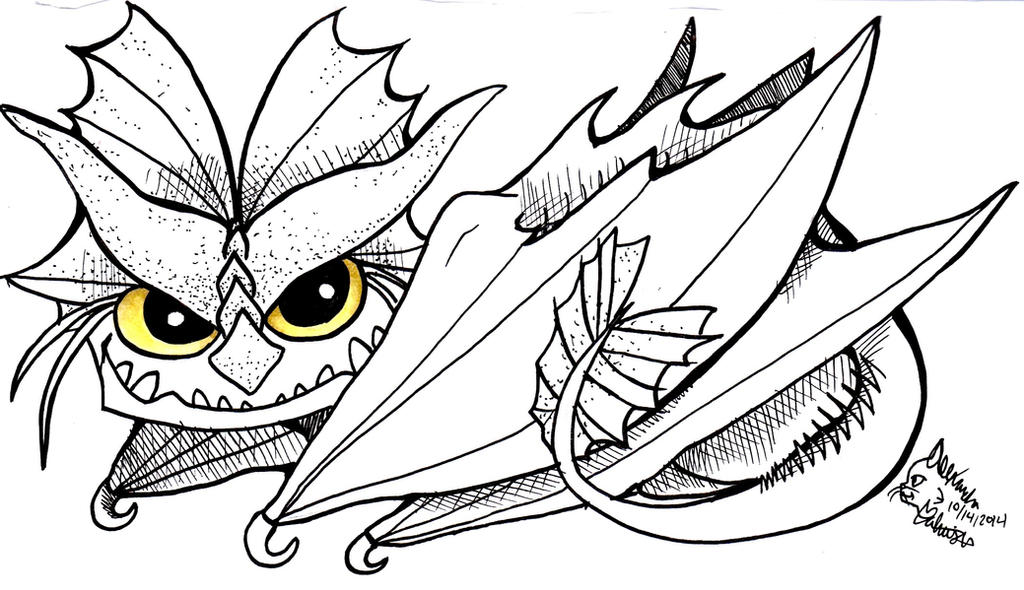 Cloudjumper inktober request by sepla on deviantart for How to train your dragon coloring page