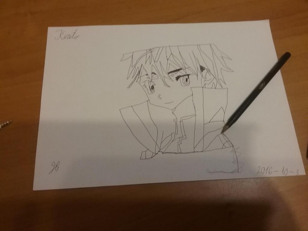 Kirito by Ashgerasameia