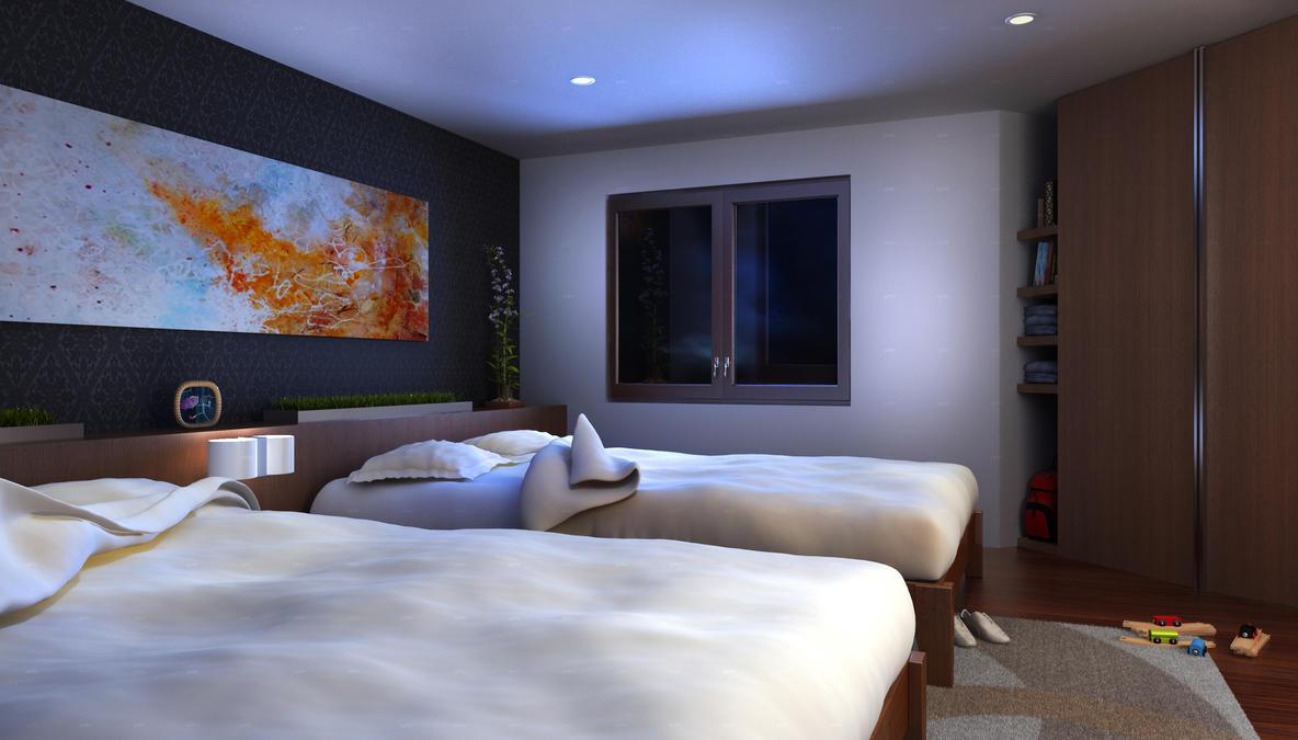 Rv Master Bedroom V2 By Vt Arch On Deviantart