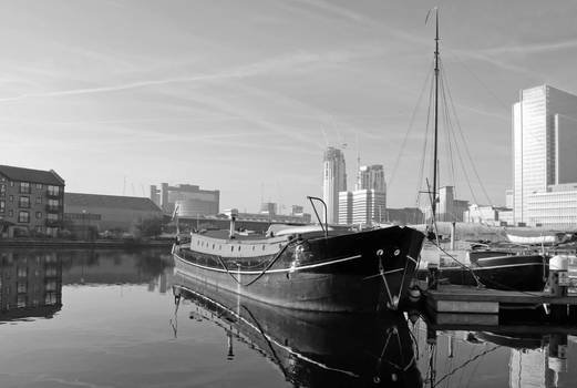 Docks at Canary Wharf