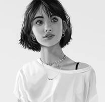 Portrait by ioanin