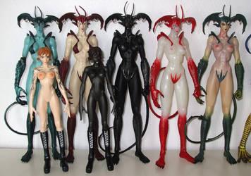 Devilman Fewture Silene Lady by NeraNanda