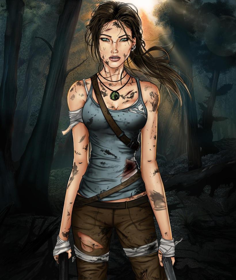 New Tomb Raider Wallpaper: Tomb Raider- A Survivor Is Born By Sanctif1ed On DeviantArt