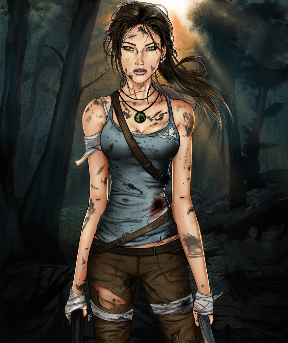 New Tomb Raider Wallpaper: Tomb Raider- A Survivor Is Born By Sanctif1ed On DeviantArt