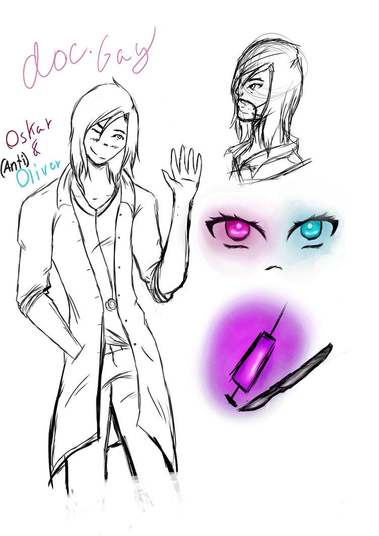 Doc Gay Sketch by tibadraw