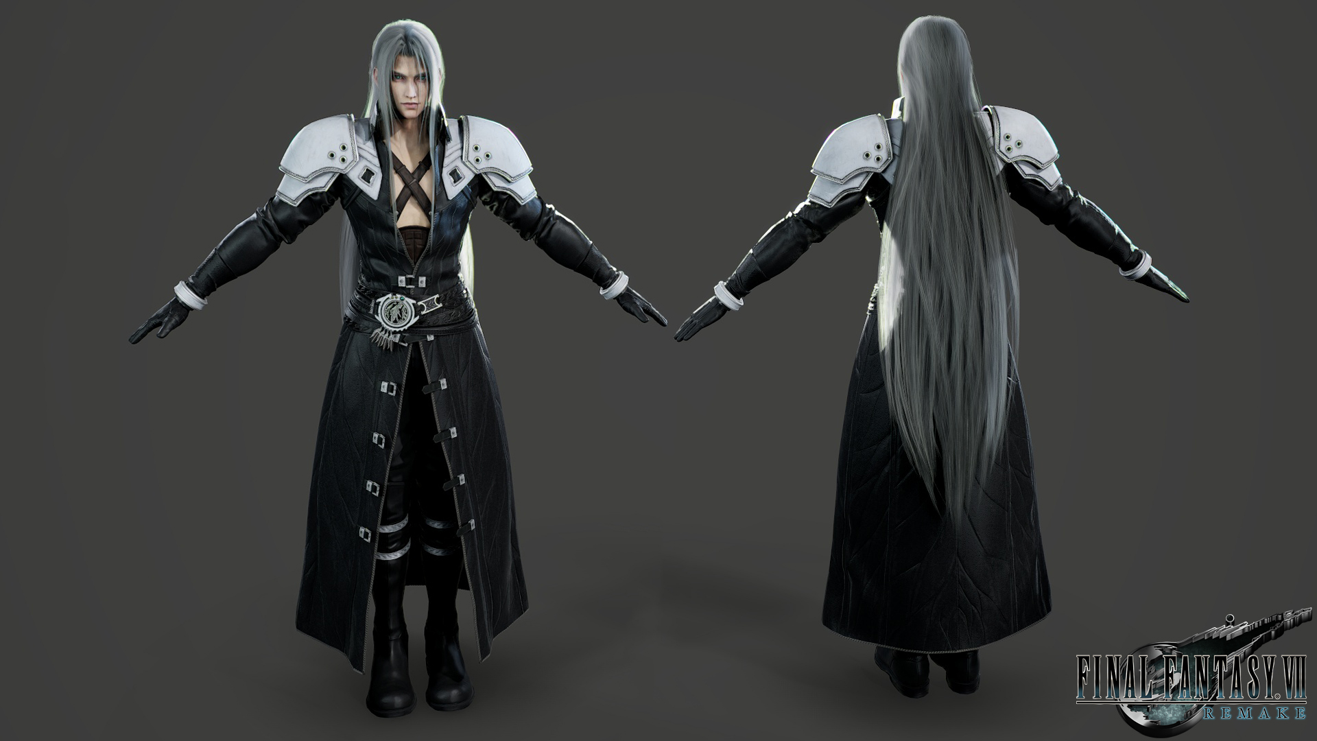 Final Fantasy Vii Remake Sephiroth By Predator0000 On Deviantart