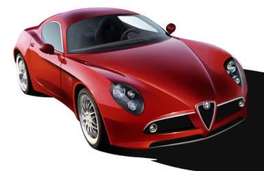Alfa Romeo 8C Competizione by GoodrichDesign