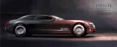 Cadillac Sixteen by GoodrichDesign