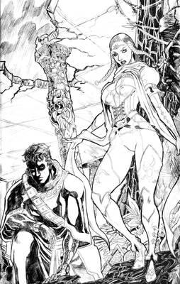 Magoria Quest page 24 sketch