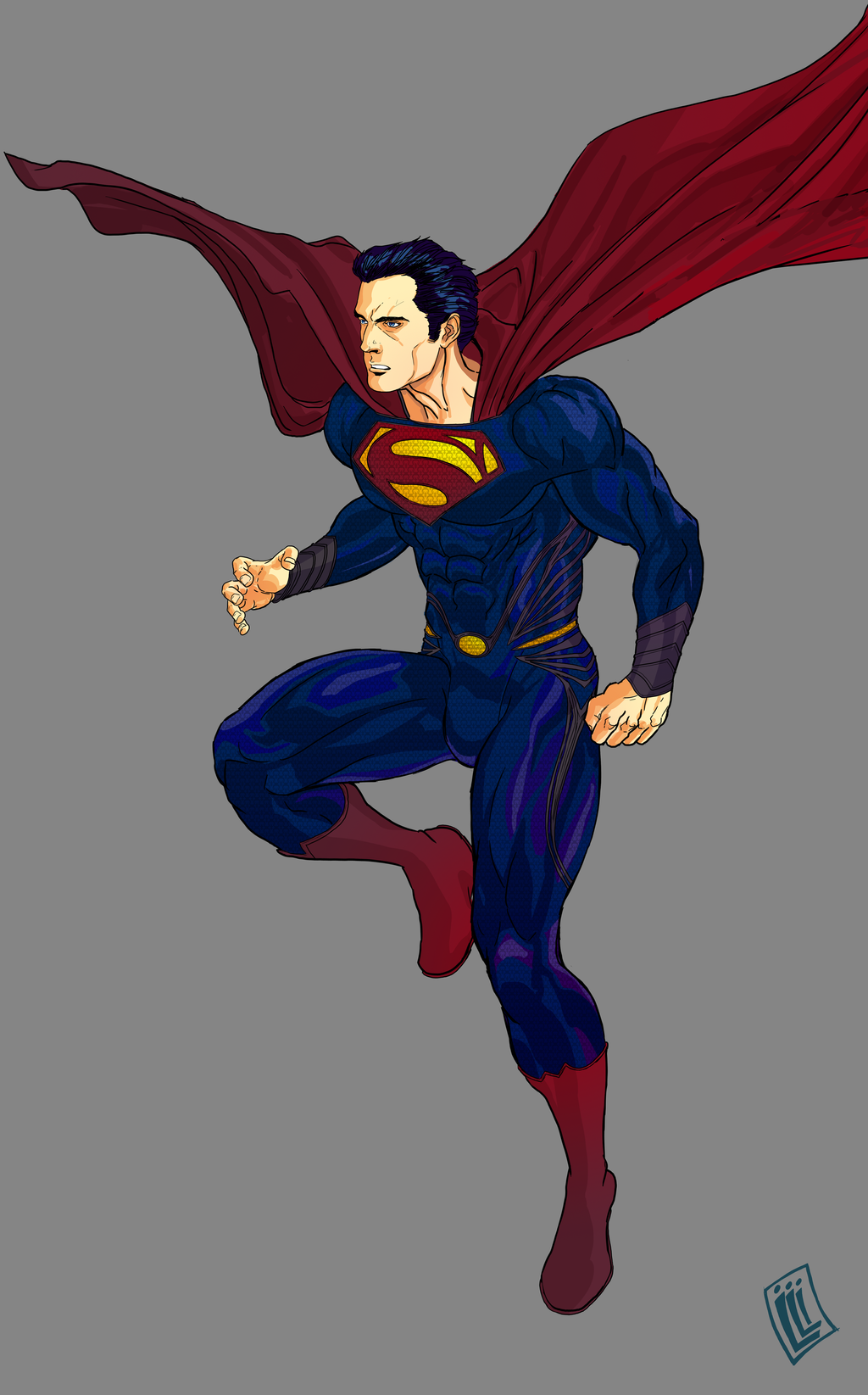 Man of Steel by lucio7lopez