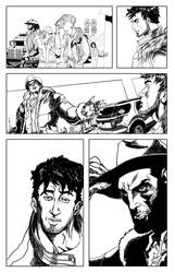 Silver Star Bloody Bullets page 6 ink