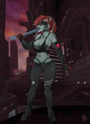 Heather in Hangar Liquids citadel