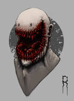 Happy Face Bloody? by Romeck-Roman