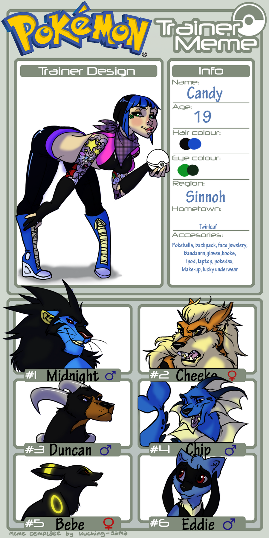 Anotherpokemonmeme by emergencyuseonly on deviantart for Chip midnight templates