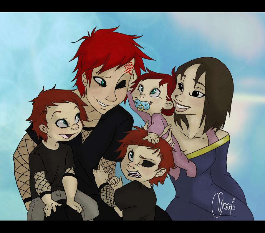 gaara and matsuri family - photo #4