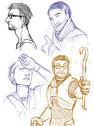 HL - Sketches by GloomyLavv