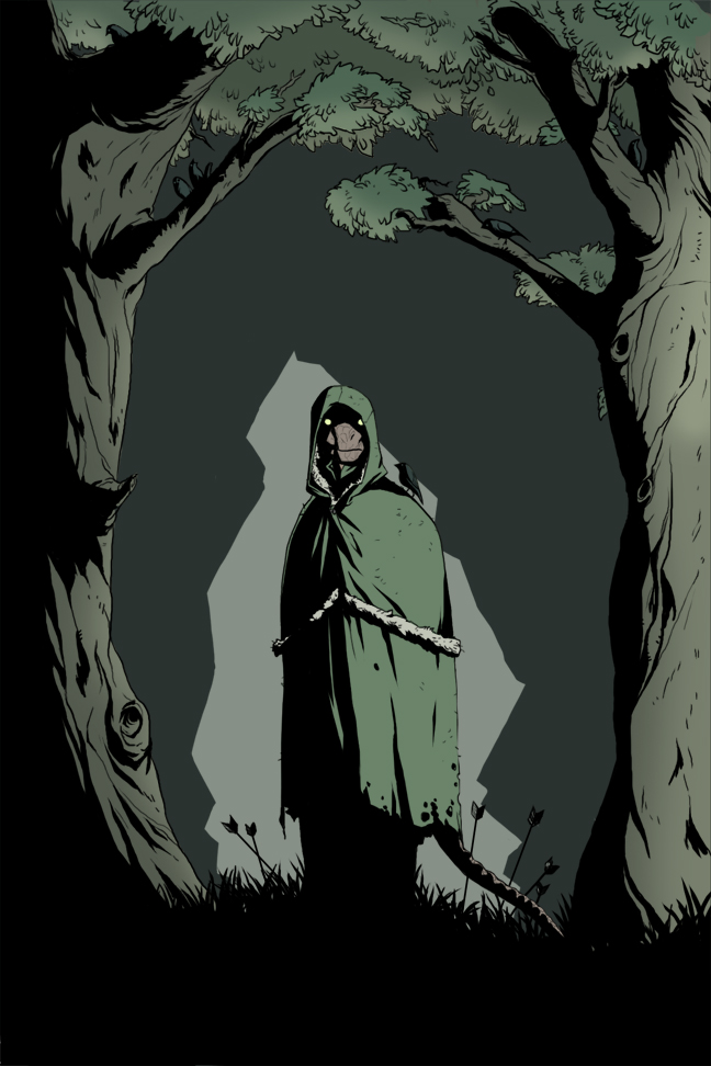 ES - Dark Forest by GloomyLavv