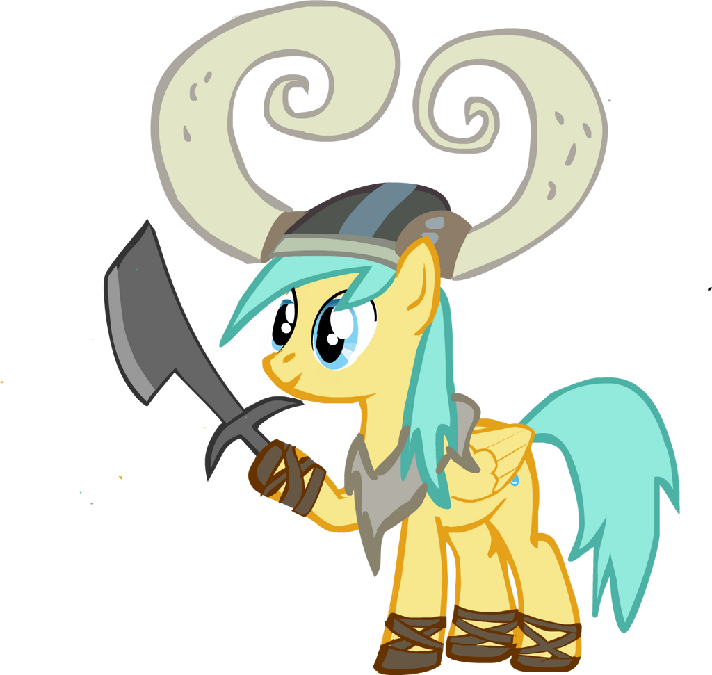 raindrops the viking mlp by meleetheman on DeviantArt # Sunshower Love_194845
